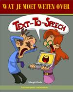 Boekje: Wat je moet weten over Text-To-Speech